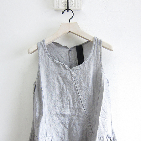 Rundholz Linen Dress - Grey