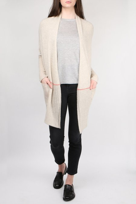 Paychi Guh Open Back Cardigan