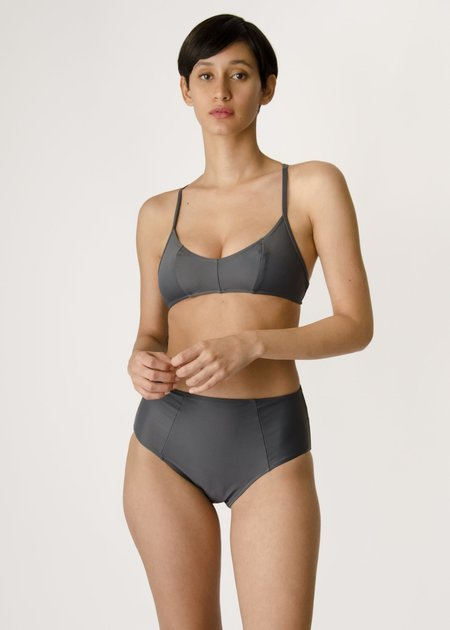 Botanica Workshop Bay Swim Brief- Slate