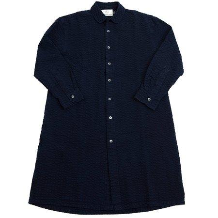 Unisex Olderbrother Long Shirt - Indigo