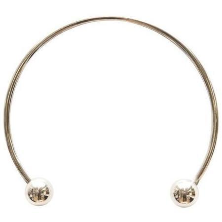 Maslo Jewelry Silver Sphere Collar