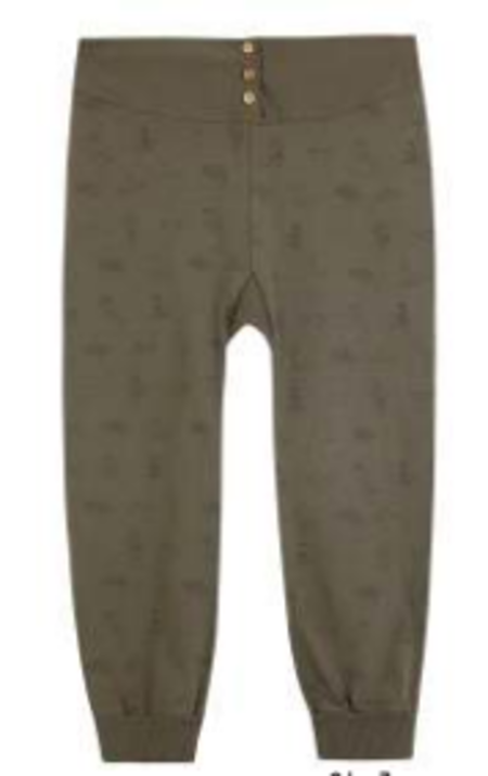 Kids Yellow Pelota Far West Trouser