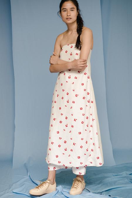 Caron Callahan THAM DRESS in Hoa Floral
