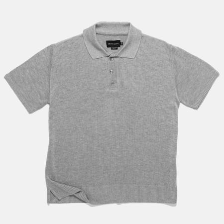 Outclass Attire Bamboo Knit Polo - Cool Grey