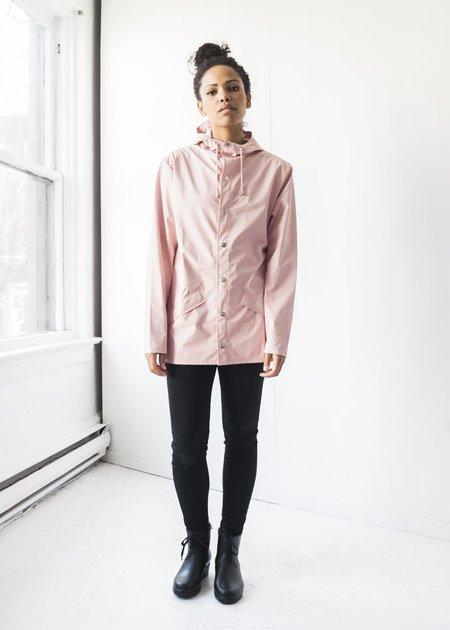 Unisex Rains Jacket in Rose