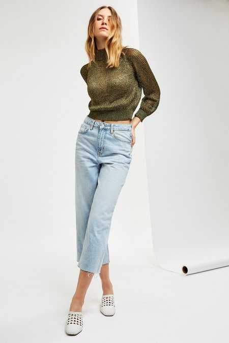 Mila Zovko Joni Sweater in Dark Moss