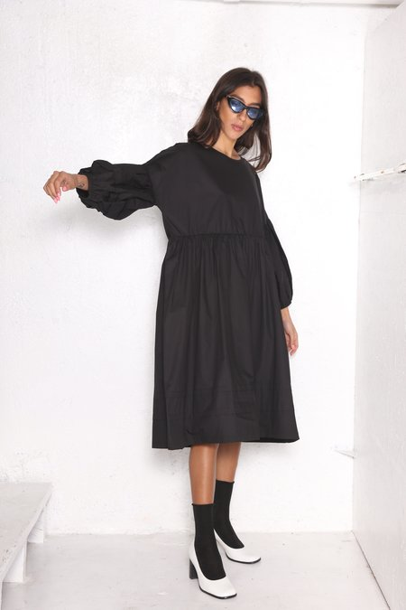 """INTENTIONALLY __________."" KEMP DRESS Black"