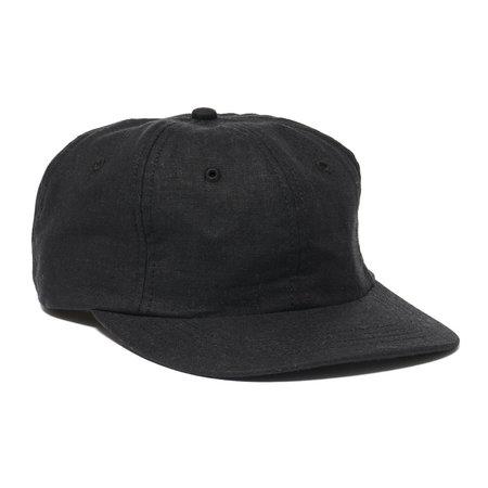 MAPLE Linen Mesa Cap - Black