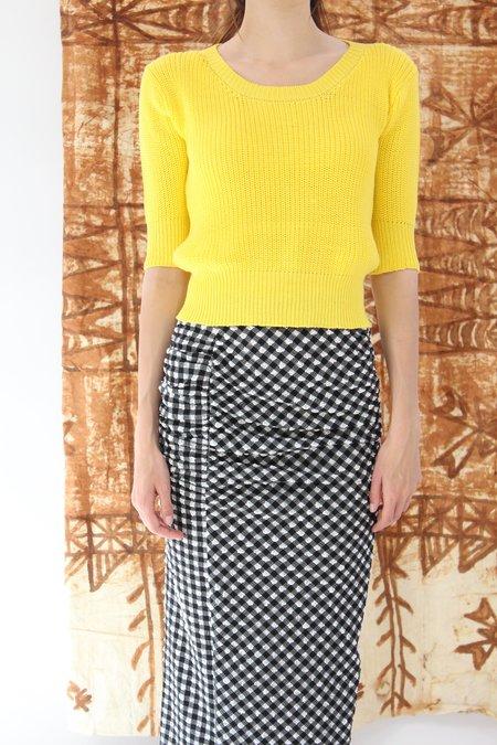 Beklina Hand Knit Story Top Oxalis
