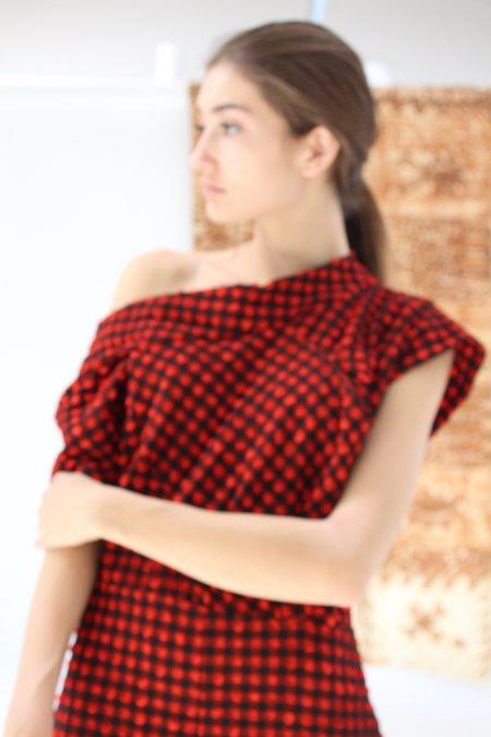 Rachel Comey Pout Dress Red