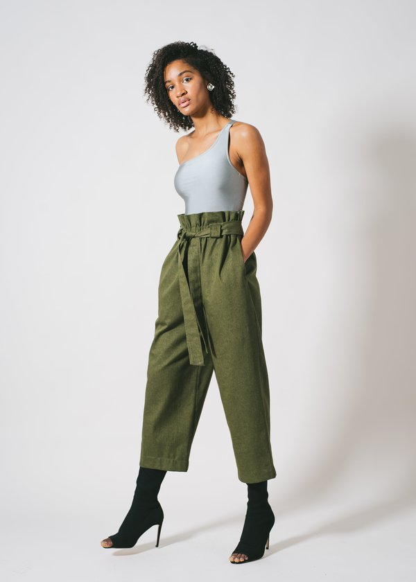 REIFhaus Timo Pant in Olive Denim