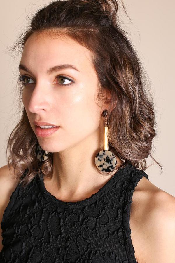 Rachel Comey Jo Earring - Dalmatian Gold