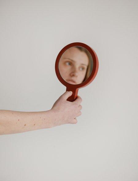 Waka Waka Face Mirror - Red Lacquer
