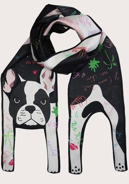 Cleo Ferin Mercury French Bulldog Scribble