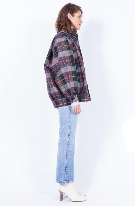 Yo Vintage! Plaid Cropped Jacket - Medium