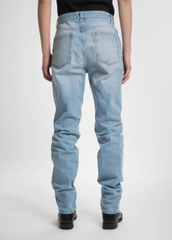 Helmut Lang Light Blue Belt Jean