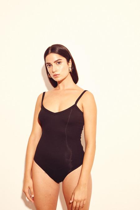Kamperett La Mer Bodysuit in Black