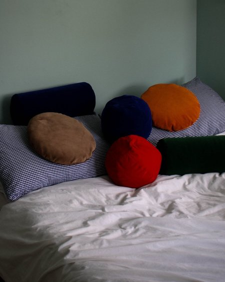 Klay Velvet Bolster Cushion