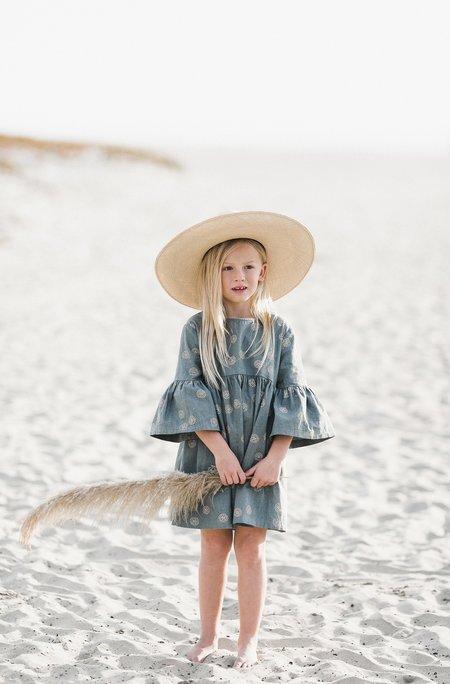Kids Rylee & Cru BELL DRESS - SAND DOLLAR