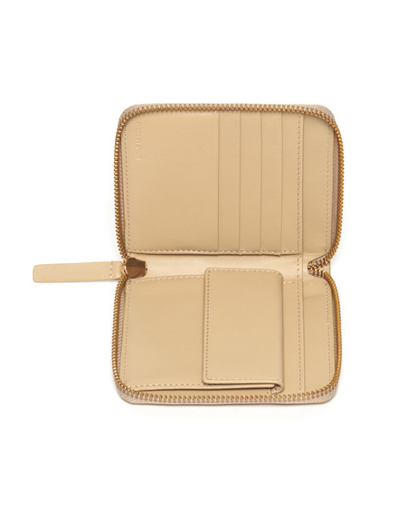 The Stowe Square Wallet in Sand