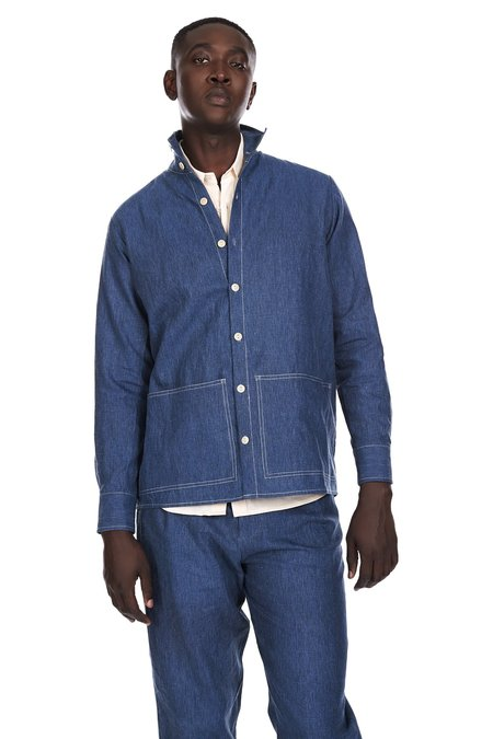 Blluemade Shirt Jacket in Indigo