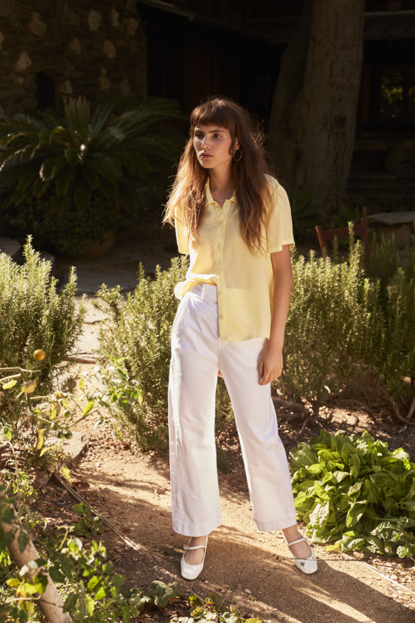 Lacausa Uniform Trousers in Whitewash