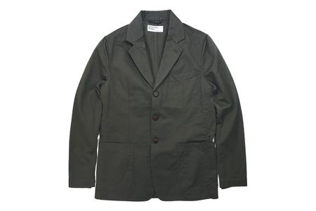 Universal Works London Jacket Olive Twill