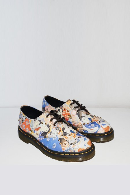 Dr. Martens Leather 1461 Lace-up Oxford - Eastern Art