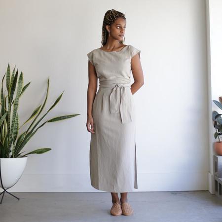 Ozma La Piedra Dress - Silk Linen