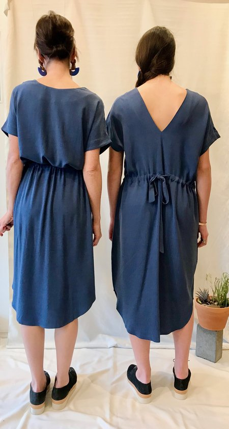 7115 by Szeki Drawstring Reversible Dress