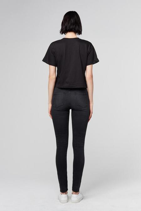 3x1 Denim No.5 Channel High Rise Jeans - Black