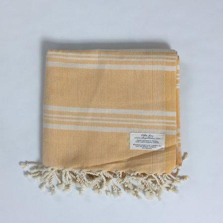 Ella Lou Classique Yellow Turkish Towel