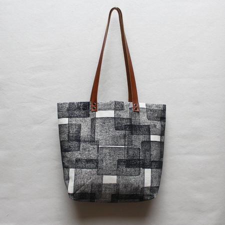 Julia Canright Layered Rectangle Tote Bag