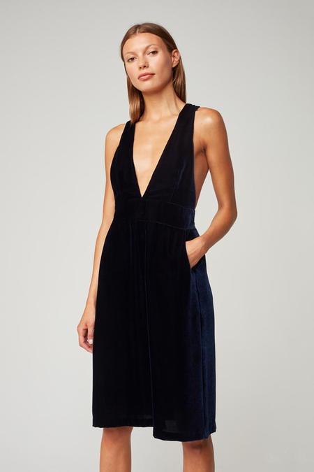 3x1 Denim Velvet Ella Dress