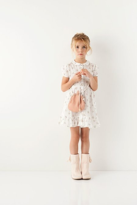 Kids Tocoto Vintage Collared Dress
