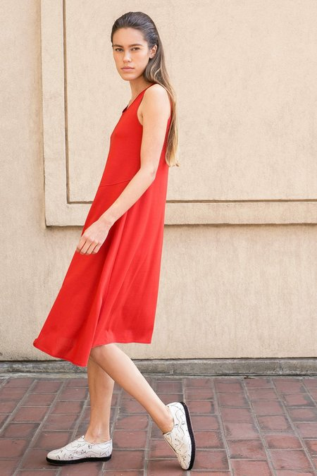 A.Oei Studio Jil Dress - Red