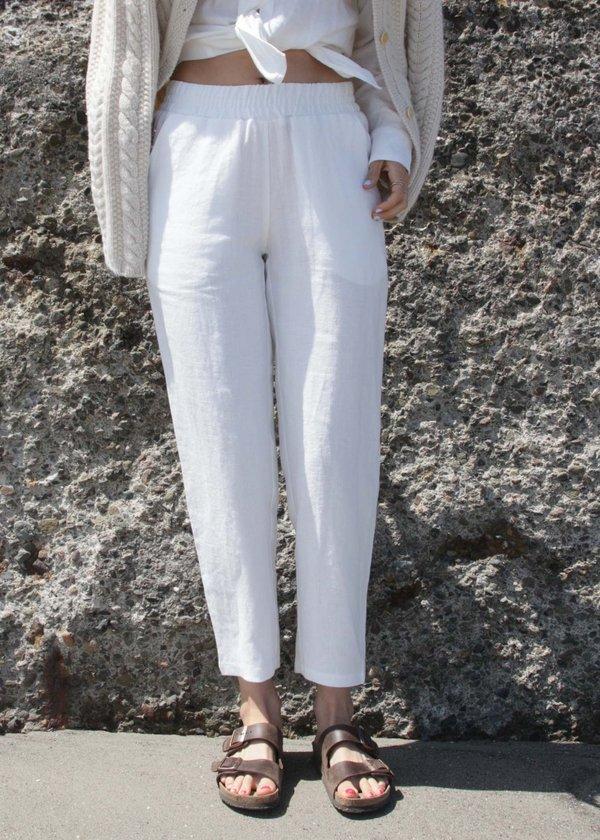 Volta Pants - White