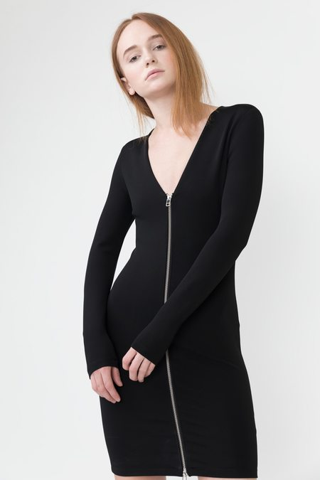T by Alexander Wang Stretch Zip Dress