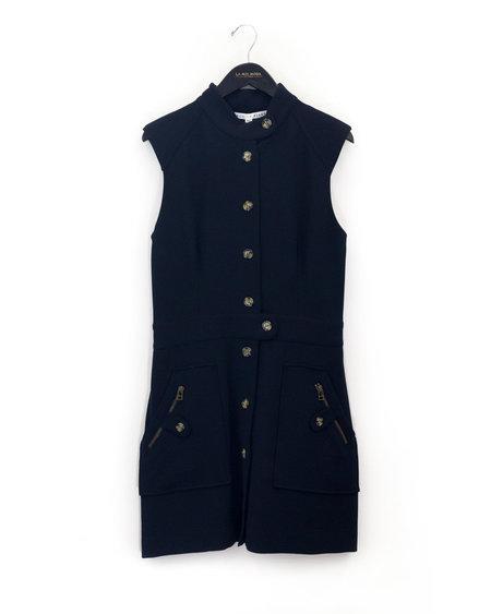 Veronica Beard Leigh Mod Button Dress