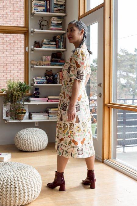 Samantha Pleet Symphony Dress - Orchestra Print