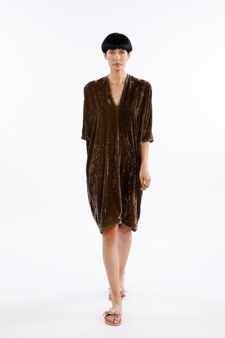 Garmentory Muse Dress Velvet in Shetland