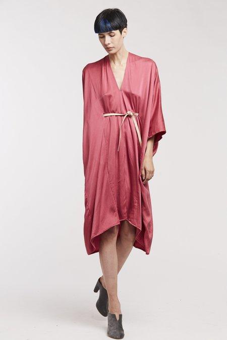 Miranda Bennett O'Keeffe Dress Silk Charmeuse in Madrid