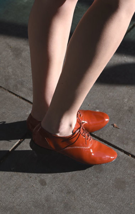 Repetto Zizi Oxford - Parade Patent