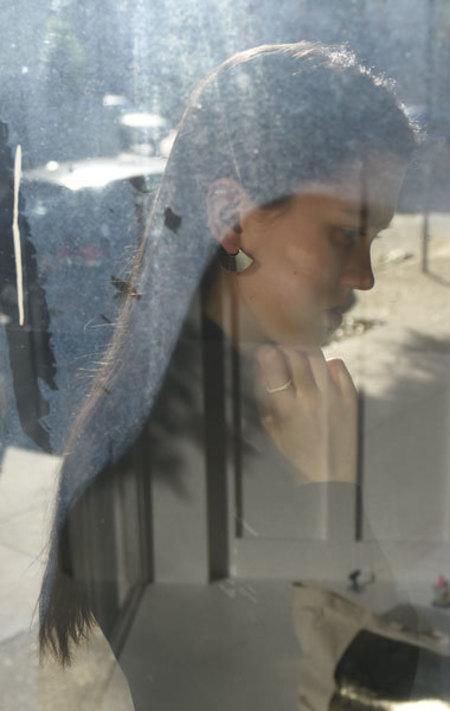 Kathleen Whitaker Small Fan Earrings