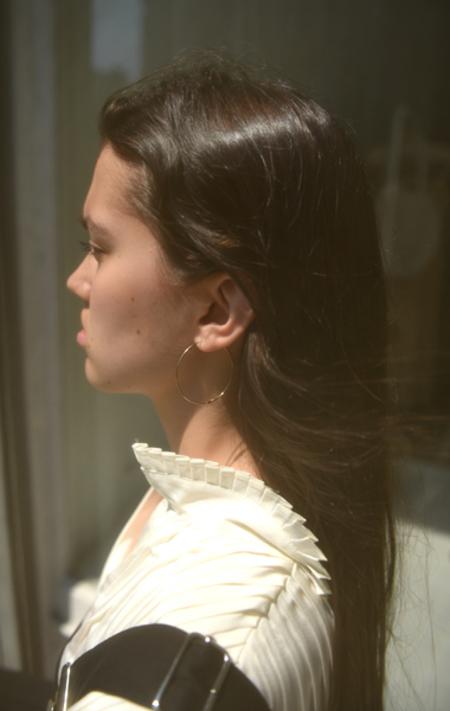 Kathleen Whitaker Medium Hoop Earring