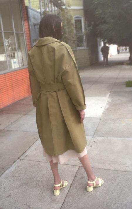 Ter et Bantine Cotton Trench Coat