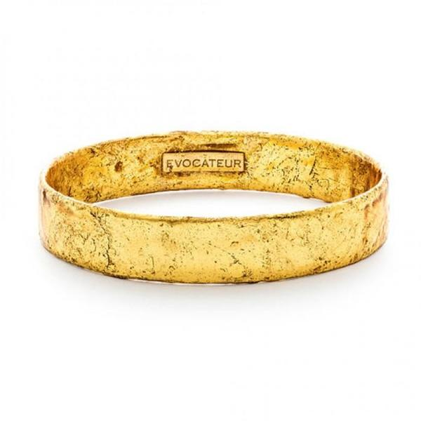 Evocateur 22K Gold Leaf Bangle