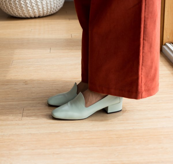 L'Intervalle Daria Loafers - Mint