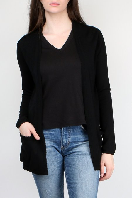 Allude Open Cardi with Pockets