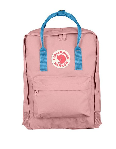 Fjallraven Kanken Backpack Pink Air Blue